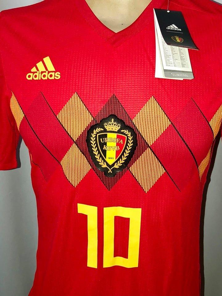 Camisa Da Seleção Da Bélgica 2018  10 Hazard - R  299 5bb333abe05c4