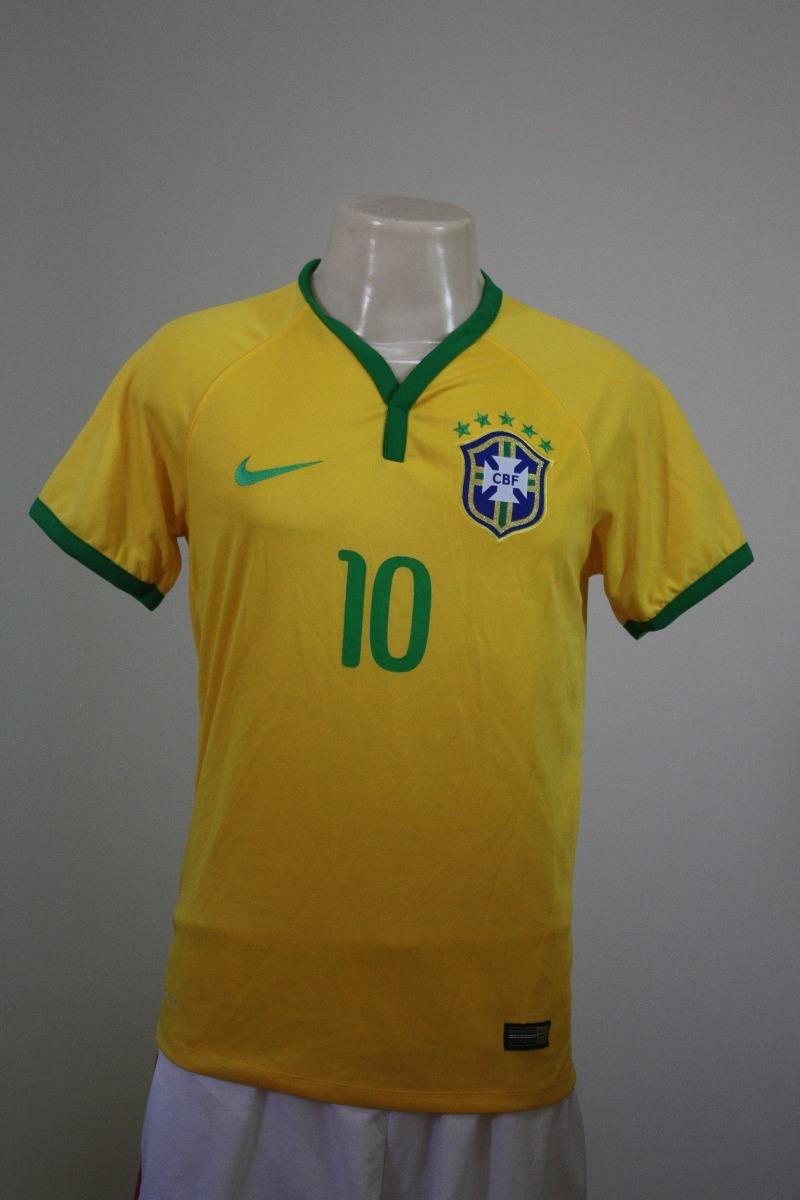 camisa seleção brasil 2014 p nike  7. Carregando zoom. 75c0d05add5d8