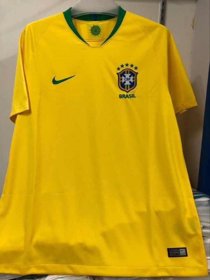 dfabdc8bb2 Camisa Seleção Brasileira Brasil Copa 2018 - R  79