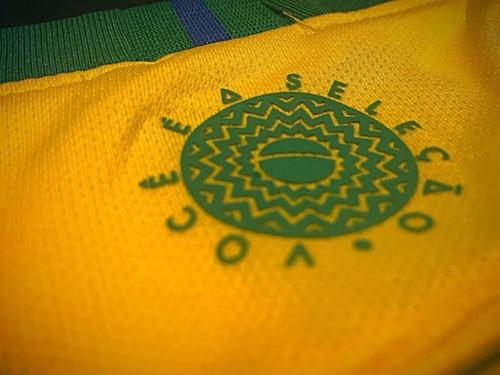 camisa seleção brasil