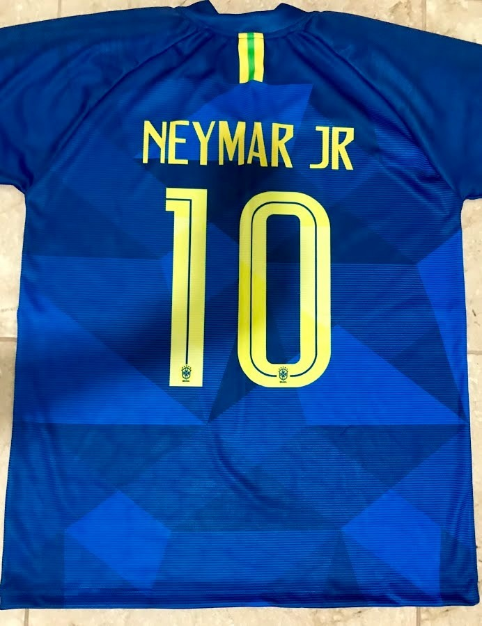 camisa seleção brasil azul - personalizada nome e numero. Carregando zoom. d7acfc7c76456