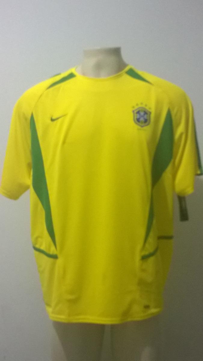 f86e6b14ba227 camisa seleção brasil campeão copa 2002 nike - nova etiqueta. Carregando  zoom.