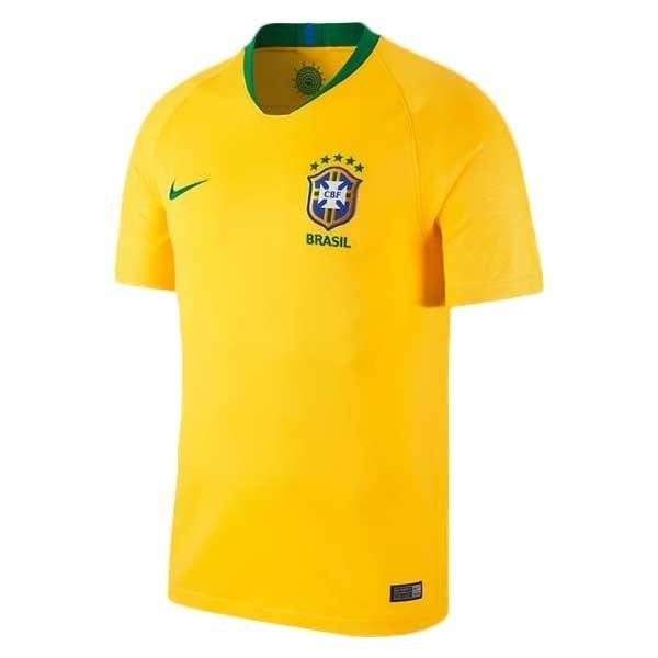 8b28a72ada Camisa Seleção Brasil I 2018 S n° - Torcedor Nike Masculina - R  140 ...