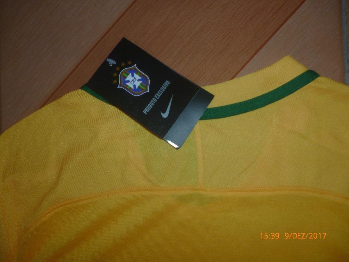 Camisa Seleção Brasil - Modelo Jogador - Entrega Imediata - R  120 ... 03cb825da2f86