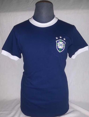 camisa seleção brasileira 1974 - retro oficial athleta + aut