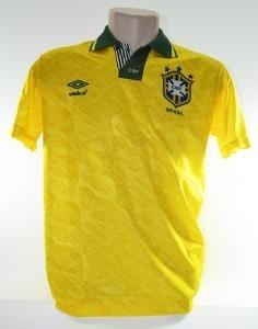 eed5db0c3d Camisa Seleção Brasileira 1993 Romário Umbro Oficial Novinha - R ...