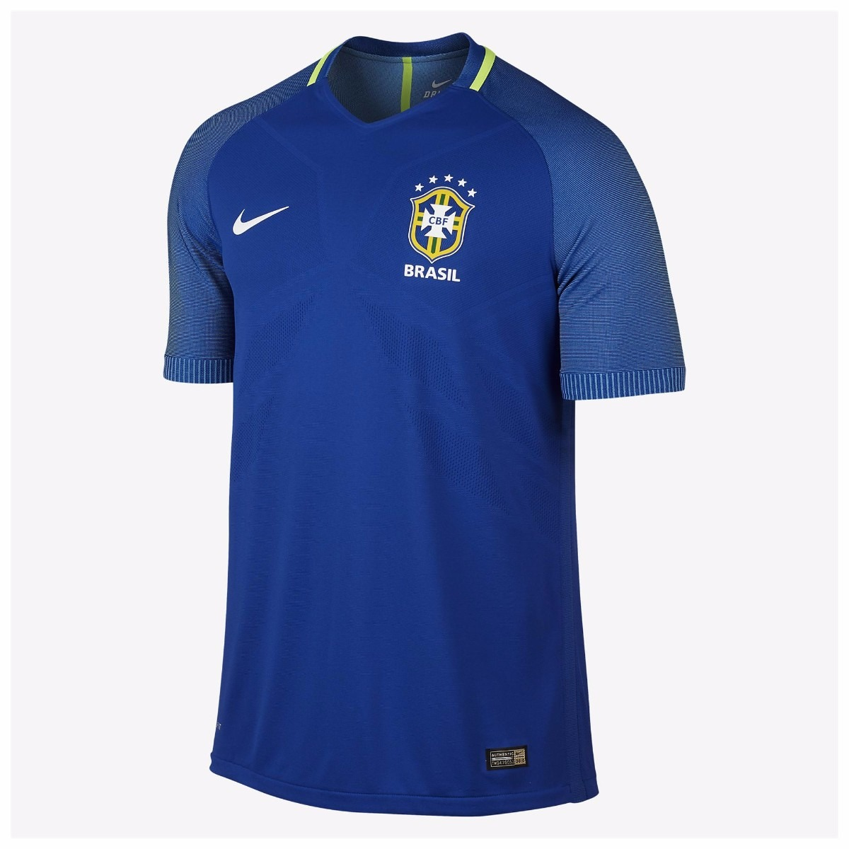 9b19d9f69a camisa seleção brasileira 2 azul 2017 2018 a pronta entrega. Carregando zoom .