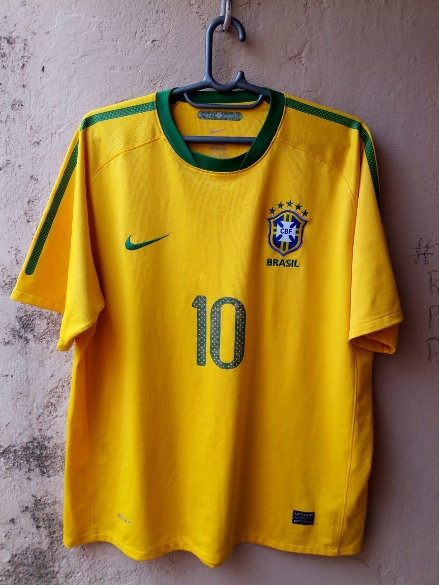 729e17f199c4c camisa seleção brasileira 2010 nike oficial 10. Carregando zoom.
