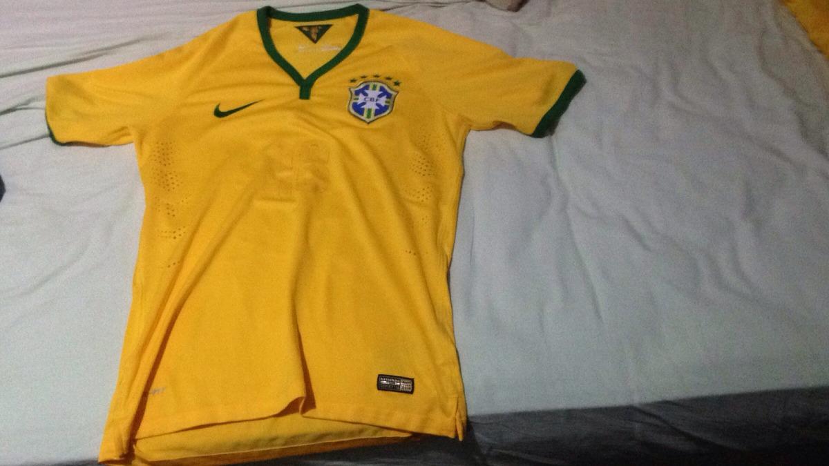 camisa seleção brasileira 2014 - modelo jogador - original. Carregando zoom. a7dd85112fce0
