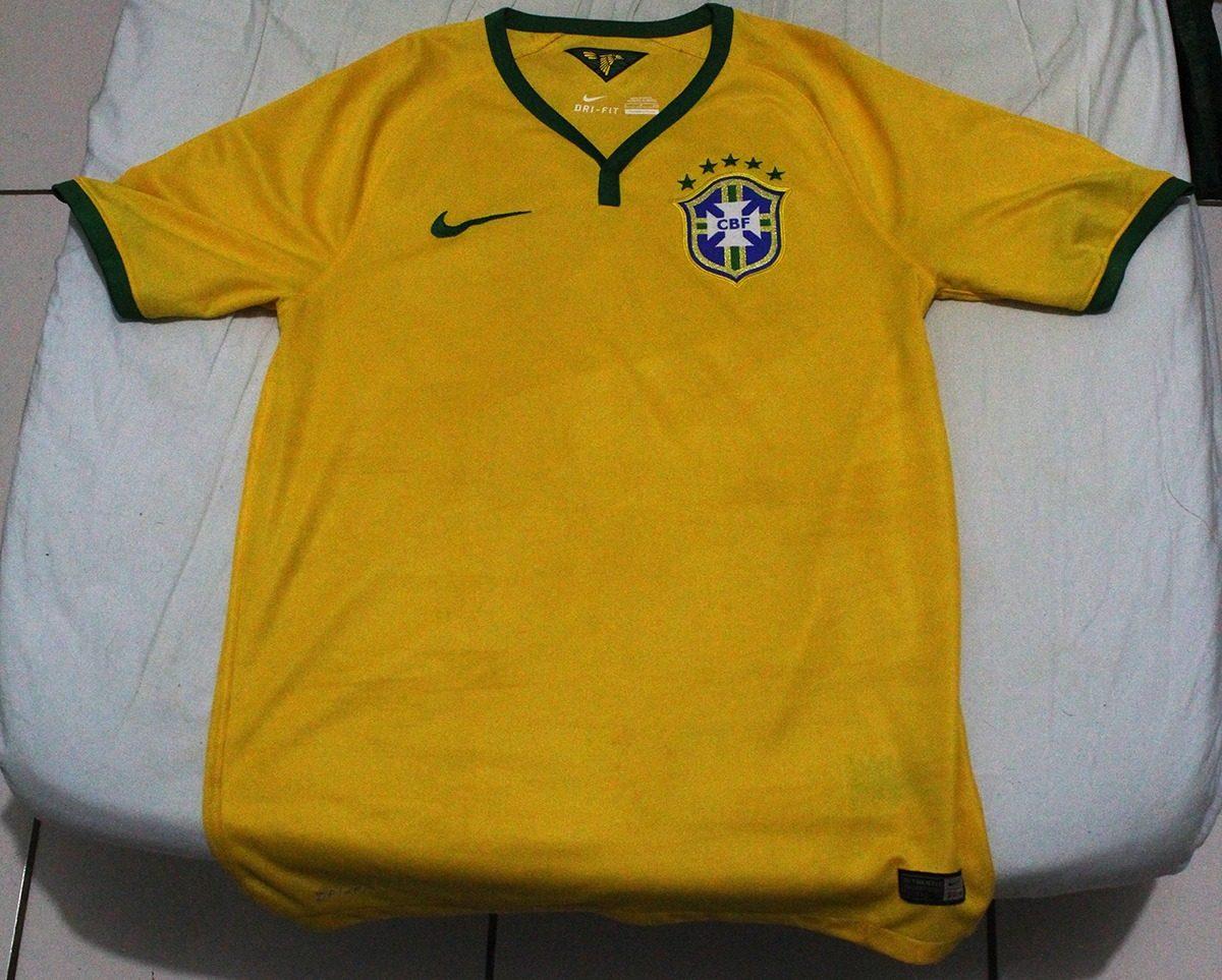 camisa seleção brasileira 2014 p. Carregando zoom. ef7b541895000