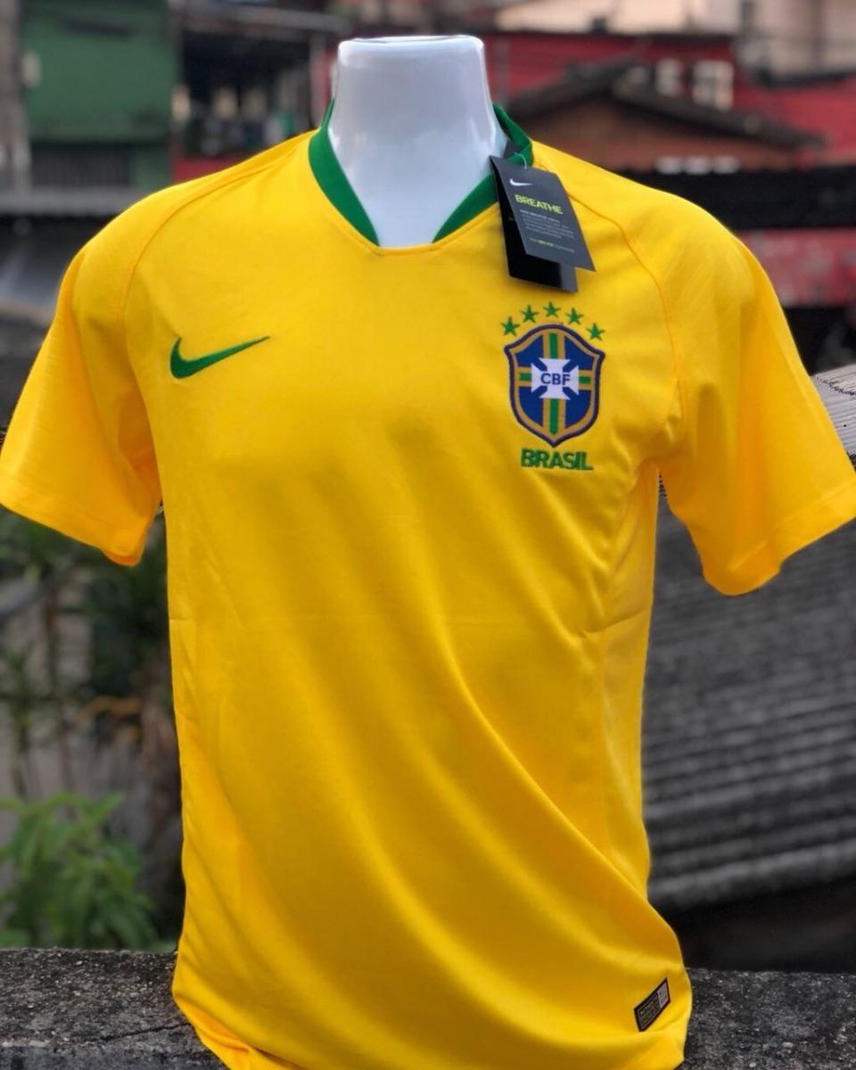 camisa seleção brasileira 2018 copa do mundo original oferta. Carregando  zoom. 6ff35625a99eb
