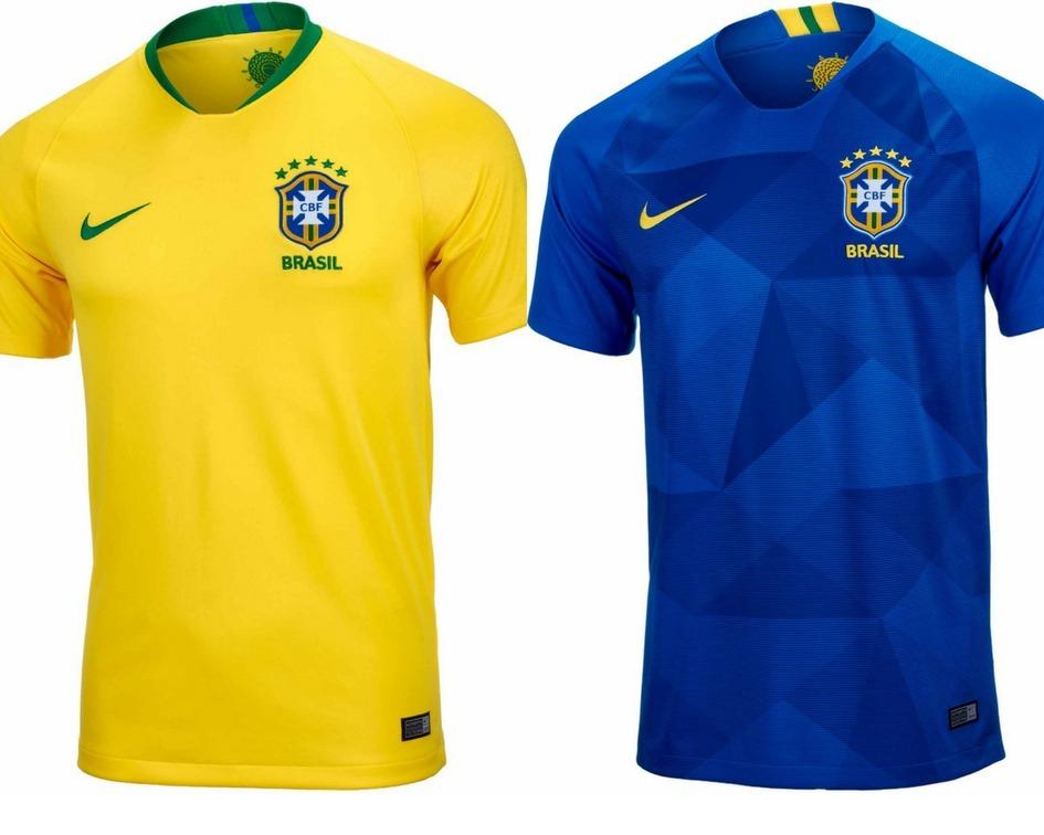 22128ef45ab06 camisa seleção brasileira 2018 copa mundo brasil promoção. Carregando zoom.