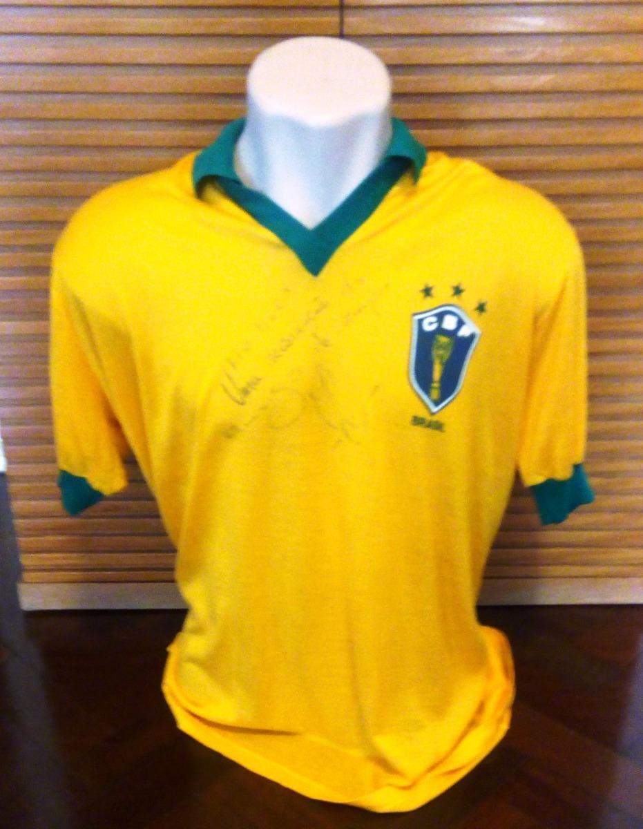 eb10d7a8eb camisa seleção brasileira 86 - autografada por elzo. Carregando zoom.