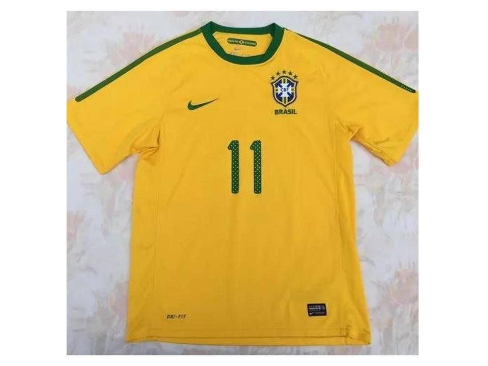 camisa seleção brasileira amarela número 11. Carregando zoom. 948c4b97fb025
