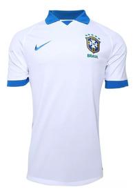a35c1636b73ec Camisa Seleção Brasileira Azul - Futebol com Ofertas Incríveis no Mercado  Livre Brasil