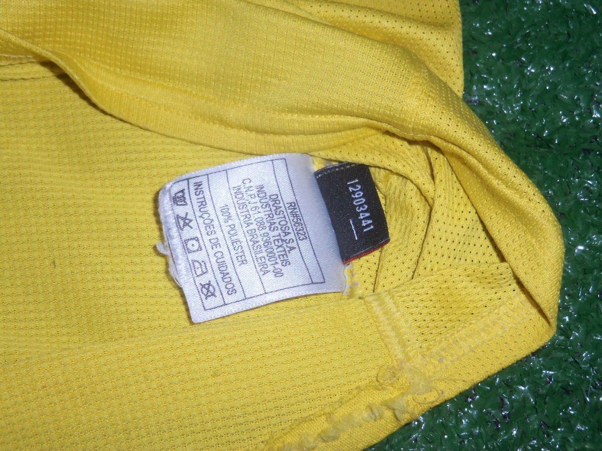 309521a313 camisa seleção brasileira brasil 2006-2007 nike home  8. Carregando zoom.