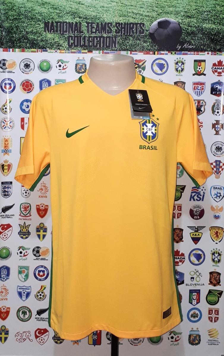 camisa seleção brasileira brasil 2016 home jogador aeroswift. Carregando  zoom. 1ab4e146f05e0