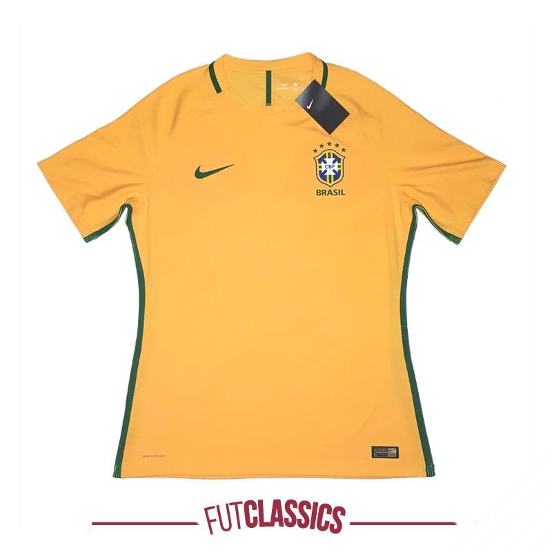 camisa seleção brasileira brasil 2016 home nike aeroswift. Carregando zoom. 6f59c744be7a5