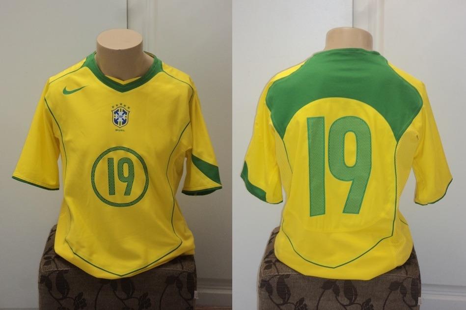 camisa seleção brasileira brasil de jogo. Carregando zoom. 6b65dcee3dbcb