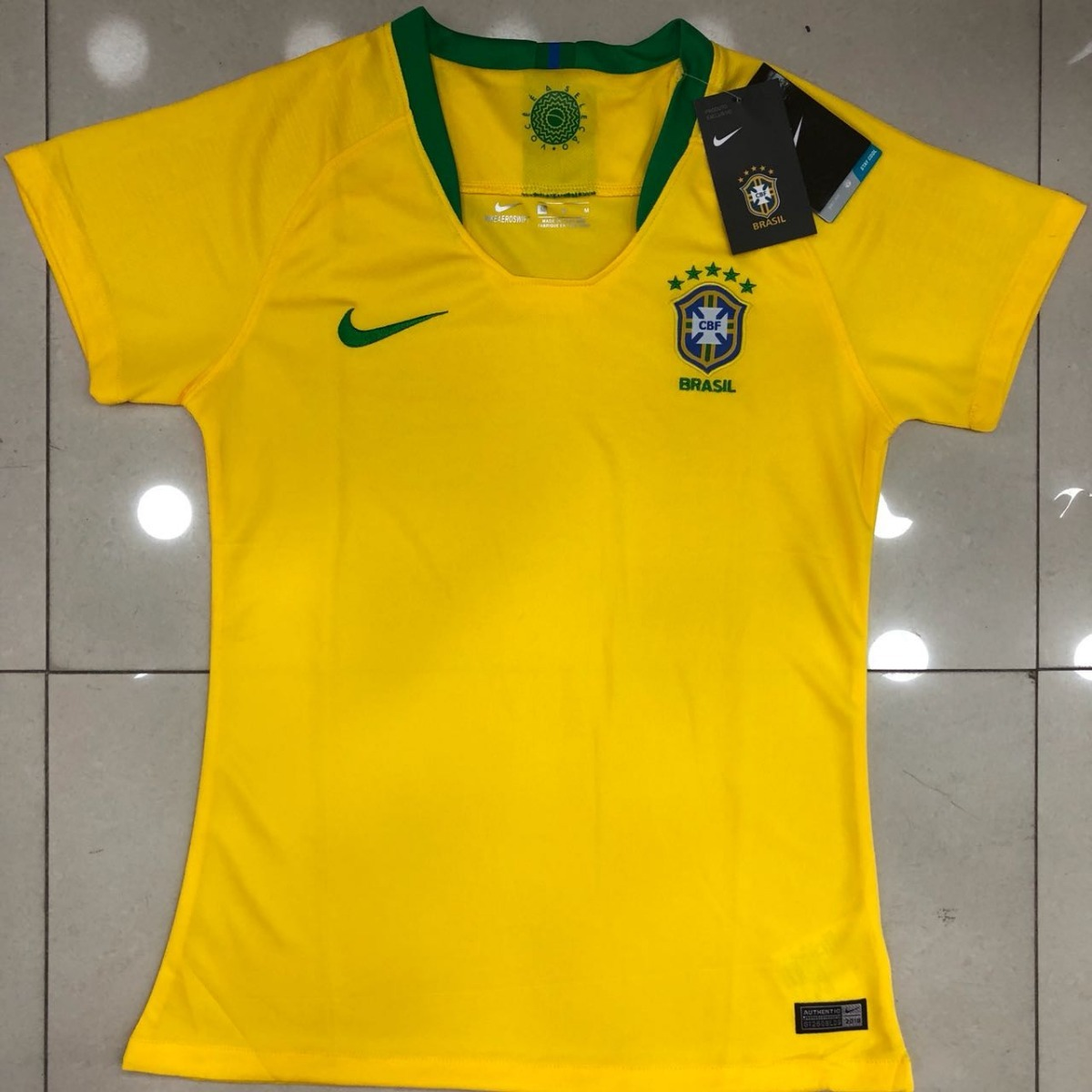 4d5f28c7cd camisa seleção brasileira cbf feminina 2018 baby look copa. Carregando zoom.