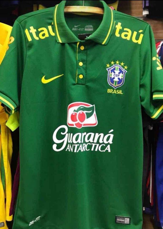 e52f36605706f camisa seleção brasileira cbf treino tite polo oficial. Carregando zoom.