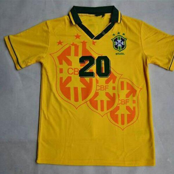 e94d6a575c991 Camisa Seleção Brasileira Copa 1994 (frete Grátis). - R  149