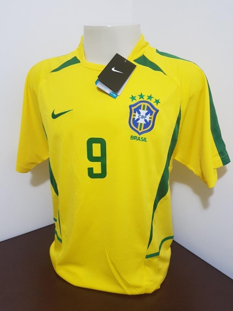 camisa seleção brasileira copa 2002 (frete grátis). Carregando zoom. 4fcea1d6e3ca0