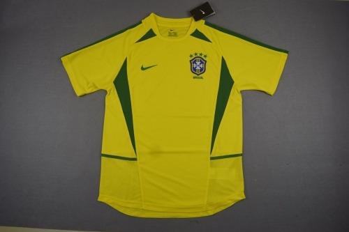 Camisa Seleção Brasileira Copa 2002 (frete Grátis) - R  145 afad83c990ece