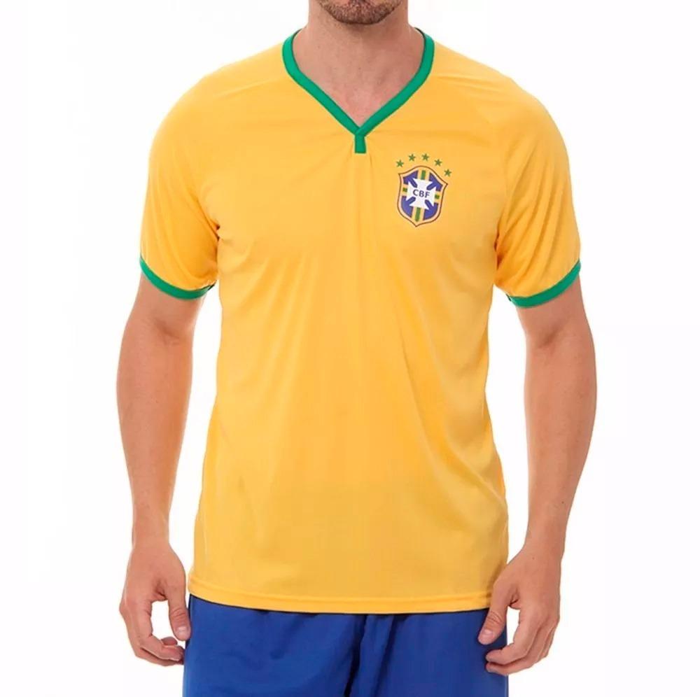 7d48fc49ebf51 camisa seleção brasileira copa 2018 oficial cbf. Carregando zoom.
