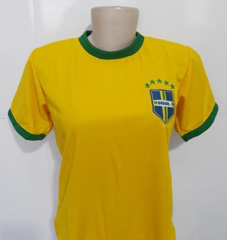 1e17b13394 camisa seleção brasileira feminina copa 2018 camiseta barata. Carregando  zoom.