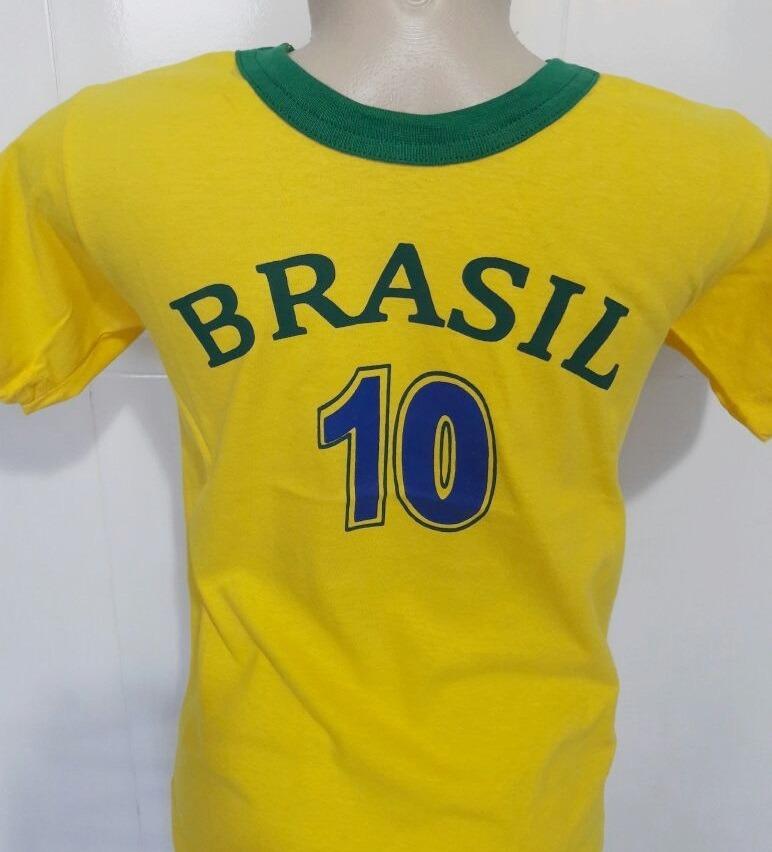 03968d6d9bbd9 camisa seleção brasileira infantil copa 2018 camiseta barata. Carregando  zoom.