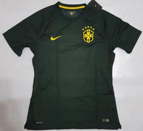 Sj Seleção Nike Verde Musgo 2014 Camisa Brasileira Jogador 4q5Rj3LcA