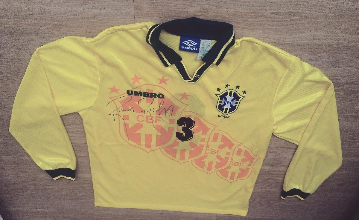 9dfe5a45a camisa seleção brasileira modelo pós copa de 1994 (de jogo). Carregando zoom .