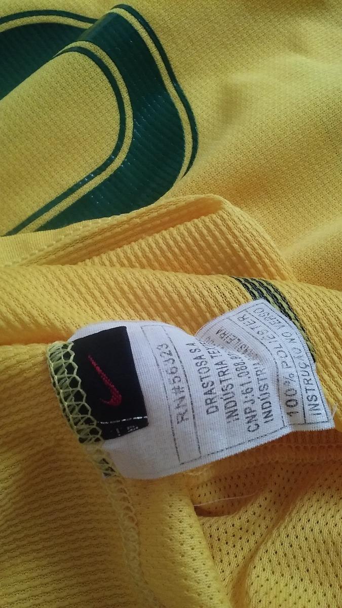 167e50c70c camisa seleção brasileira nike 2006. Carregando zoom.
