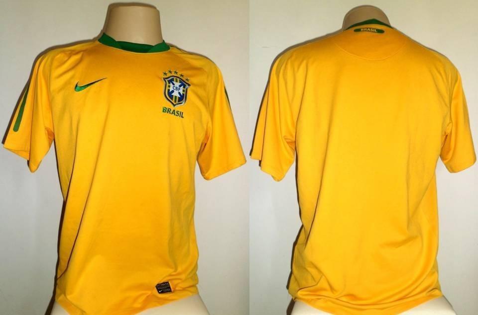 2de6407b1c07f camisa seleção brasileira nike 2010   2011 oficial m. Carregando zoom.