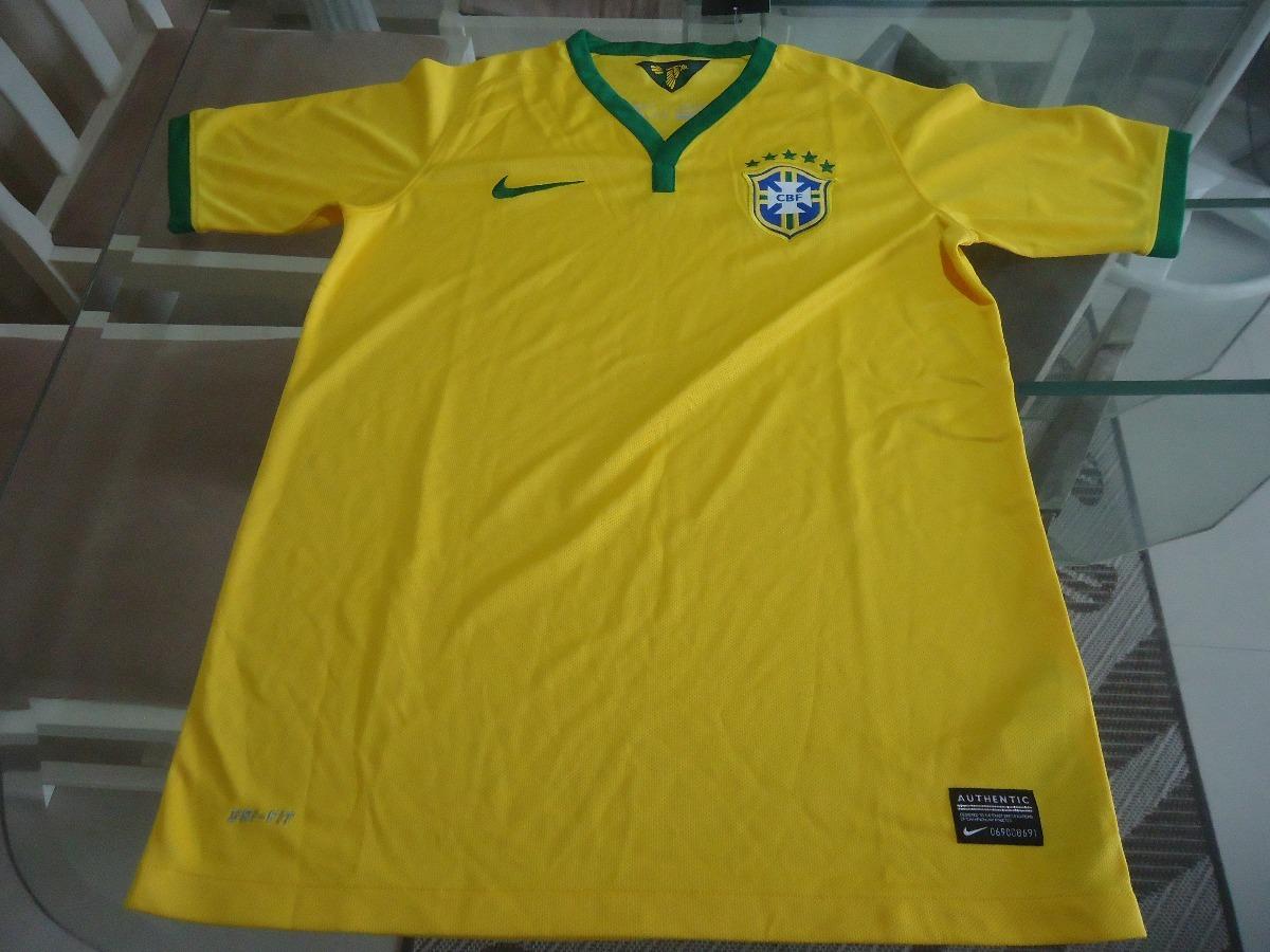 9b93e51a8a camisa seleção brasileira nike 2014 - 100% original. Carregando zoom.