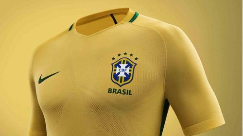 camisa seleção brasileira nike aeroswift mod. 2016