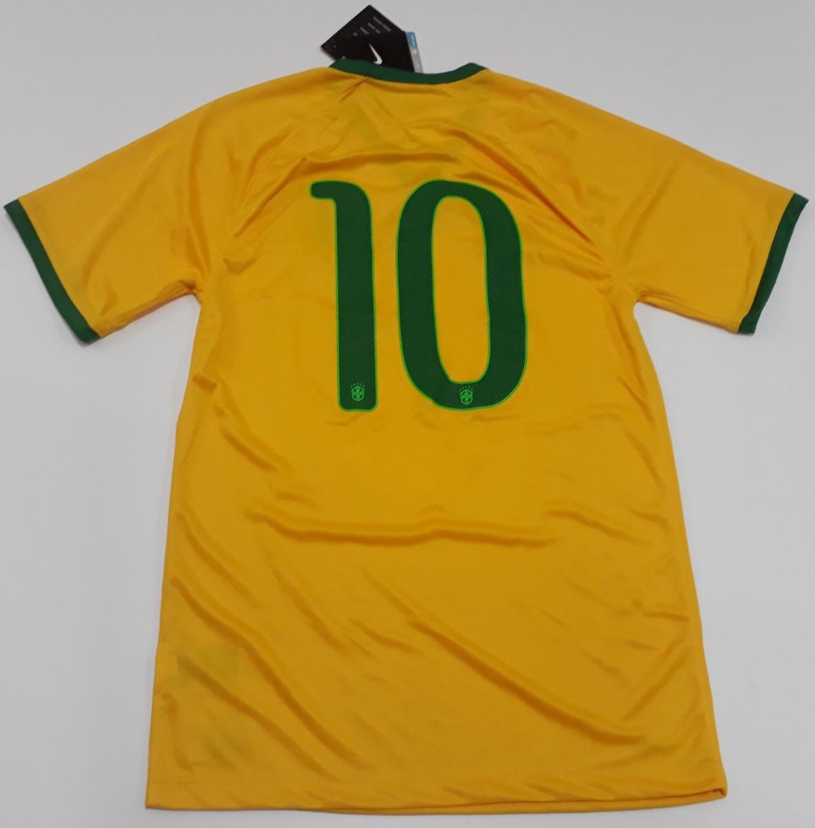 camisa seleção brasileira nike copa de 2014 - df. Carregando zoom. 8fff96f678db8