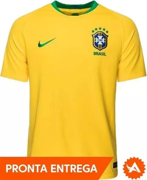 bfb644f53d Camisa Seleção Brasileira Nike Oficial 2018 - Original - R  189
