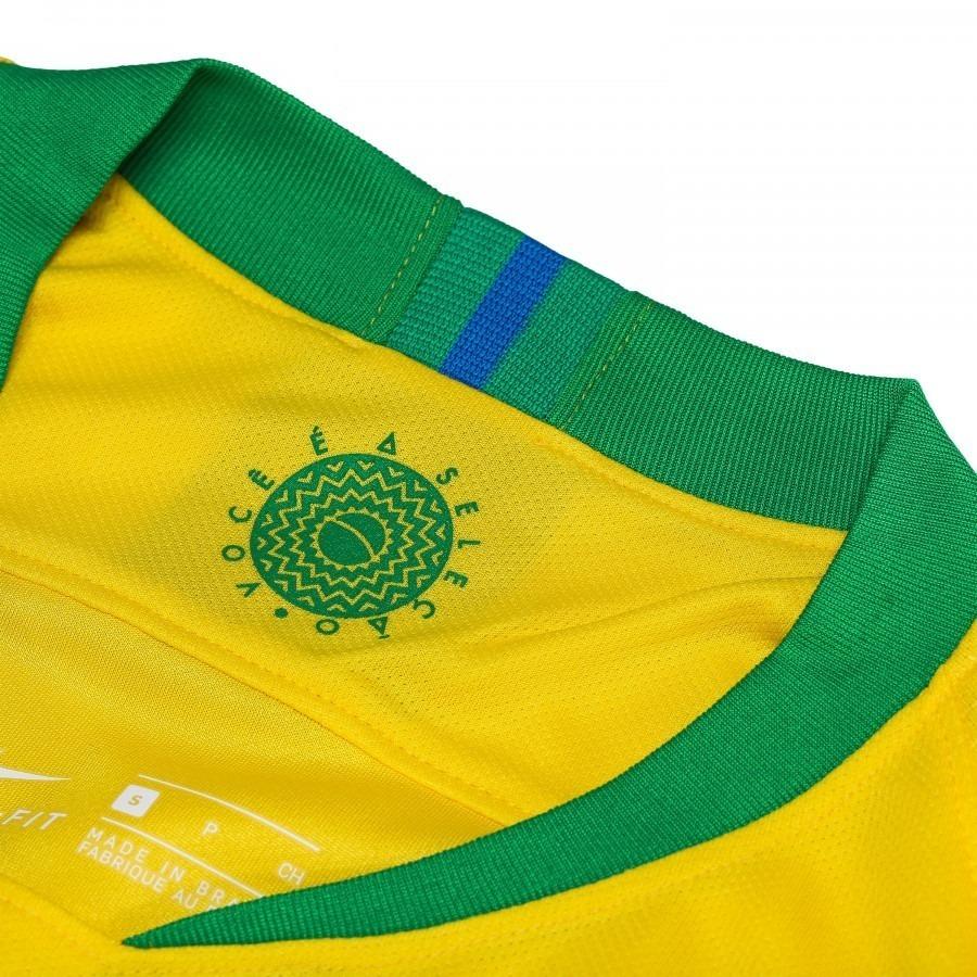 24f43b8ed7 camisa seleção brasileira nike original 2018 copa do mundo. Carregando zoom.