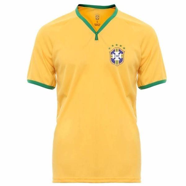 96a8c13cac Camisa Seleção Brasileira Oficial Cbf - Camiseta Brasil - R  29