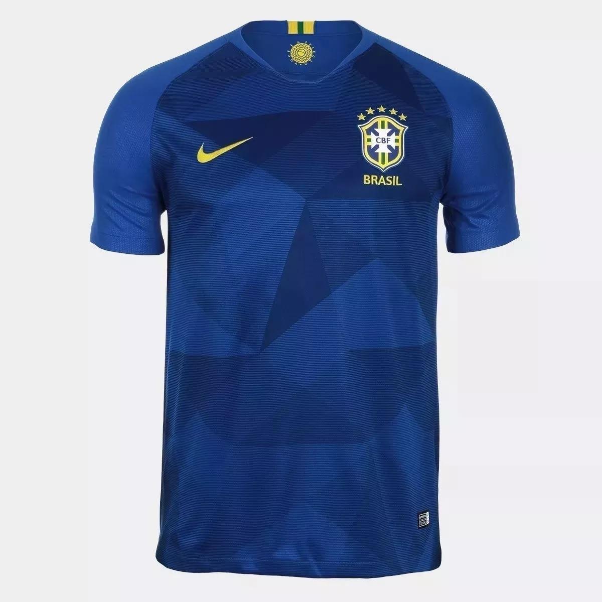 ... camisa seleção brasileira oficial copa 2018 pronta entrega! Carregando  zoom. c064d179c3558a ... ff2345339e2f1