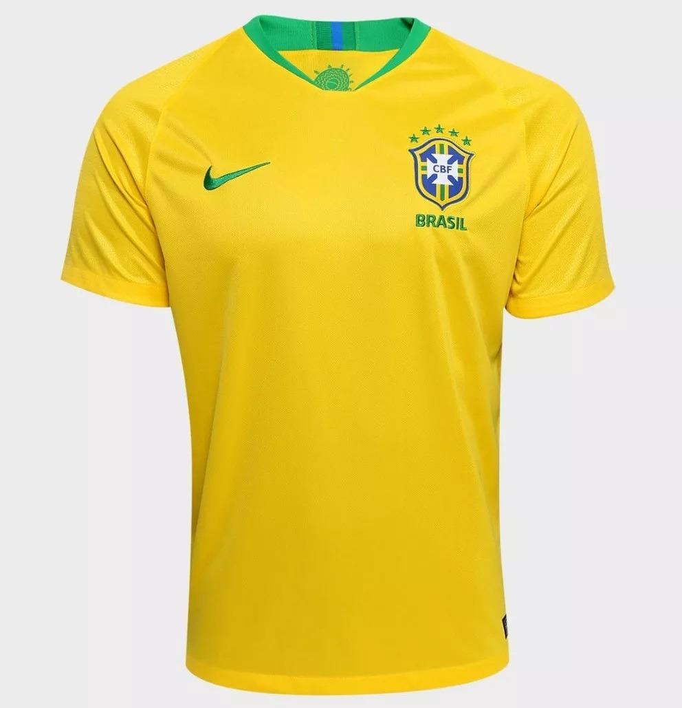 81c12fc6d2 camisa seleção brasileira oficial copa 2018 pronta entrega! Carregando zoom.