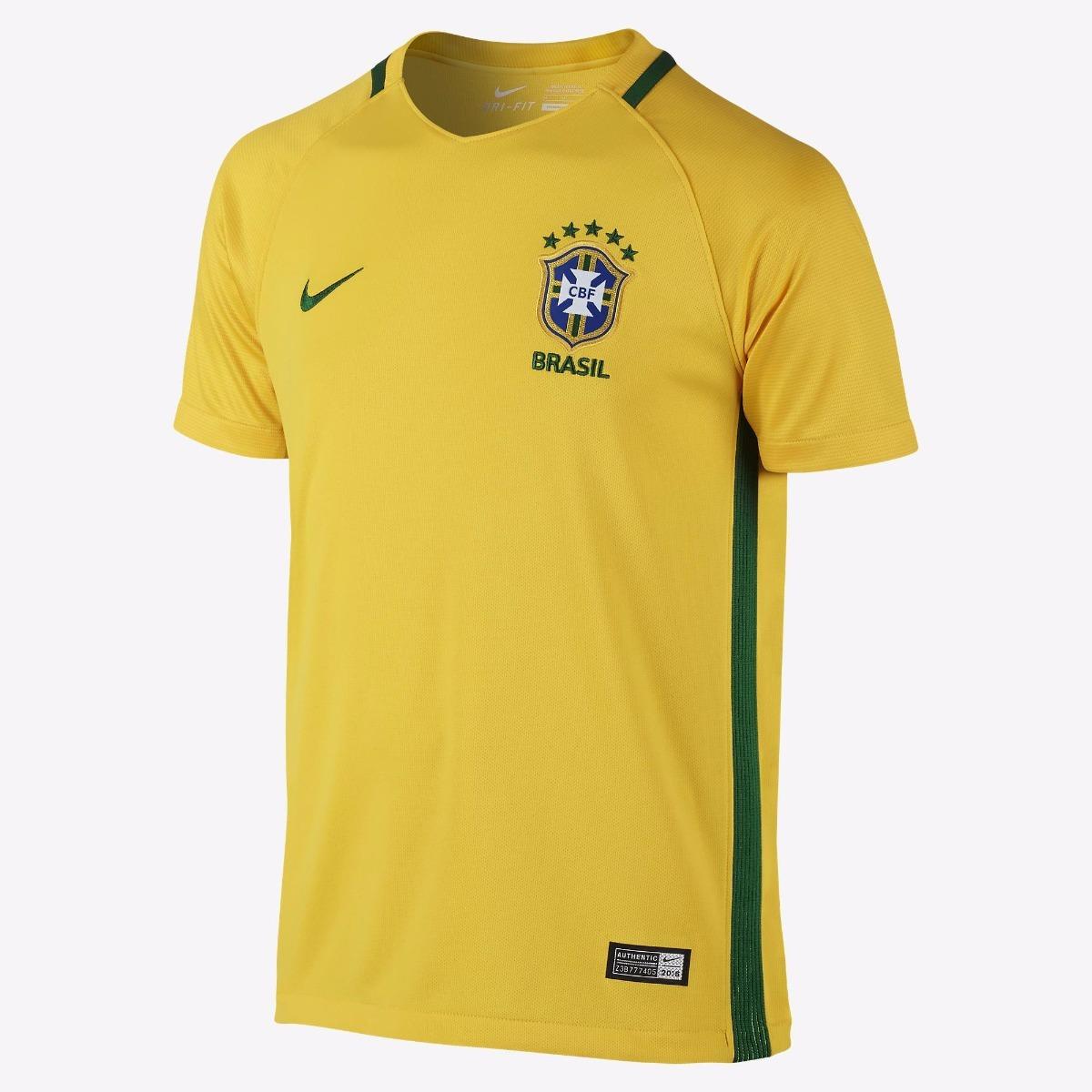 91cffc1ce camisa seleção brasileira oficial nike - infantil - 2017. Carregando zoom.