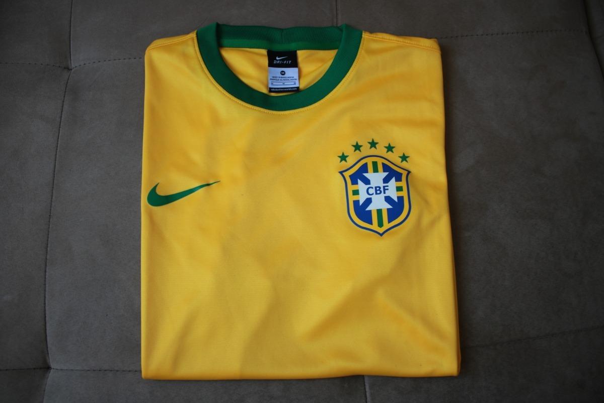 7654a9367 camisa seleção brasileira oficial nike torcedor copa 2014. Carregando zoom.