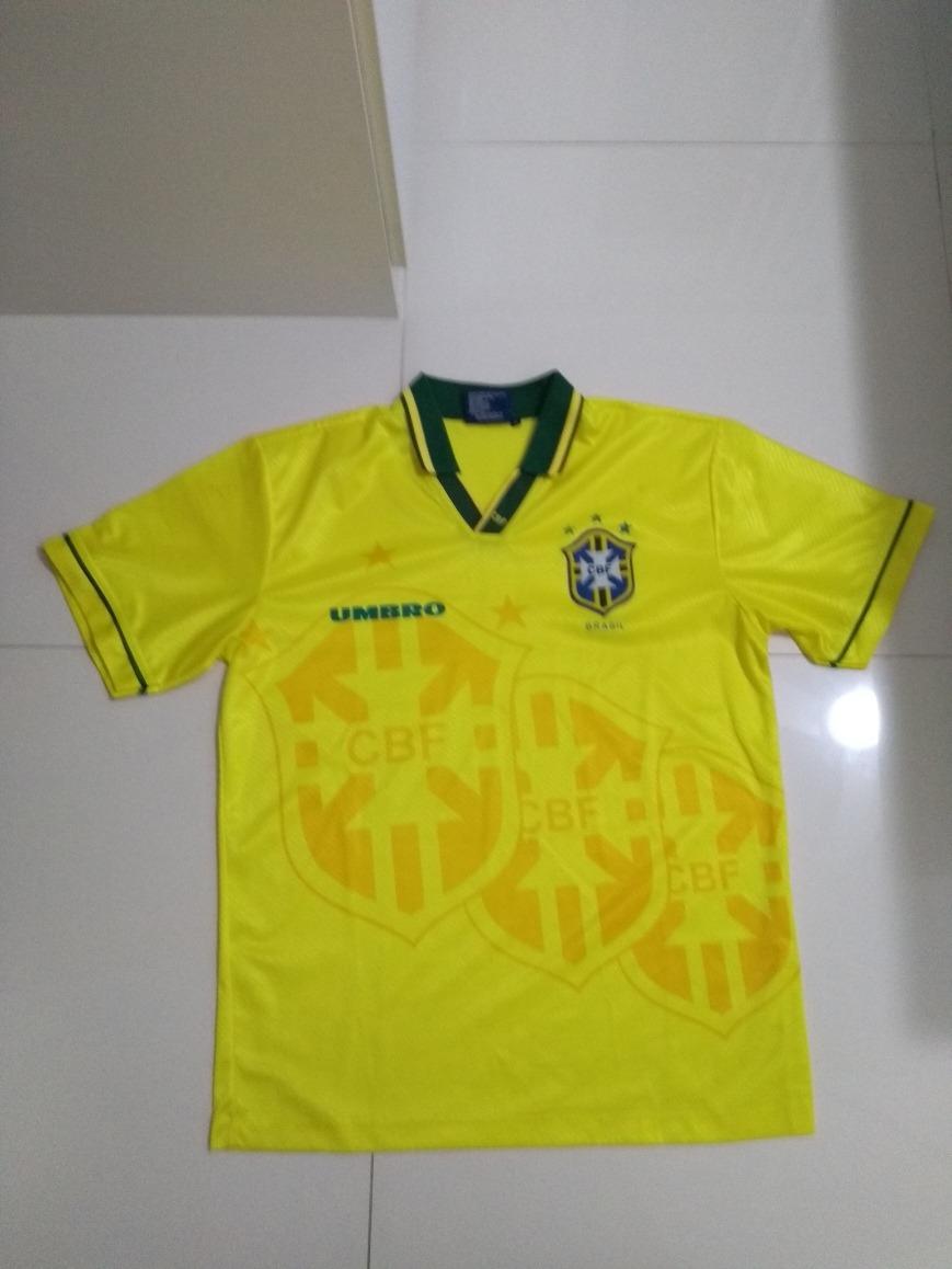 80dd62e6a2116 camisa seleção brasileira oficial umbro - tetra 1994. Carregando zoom.