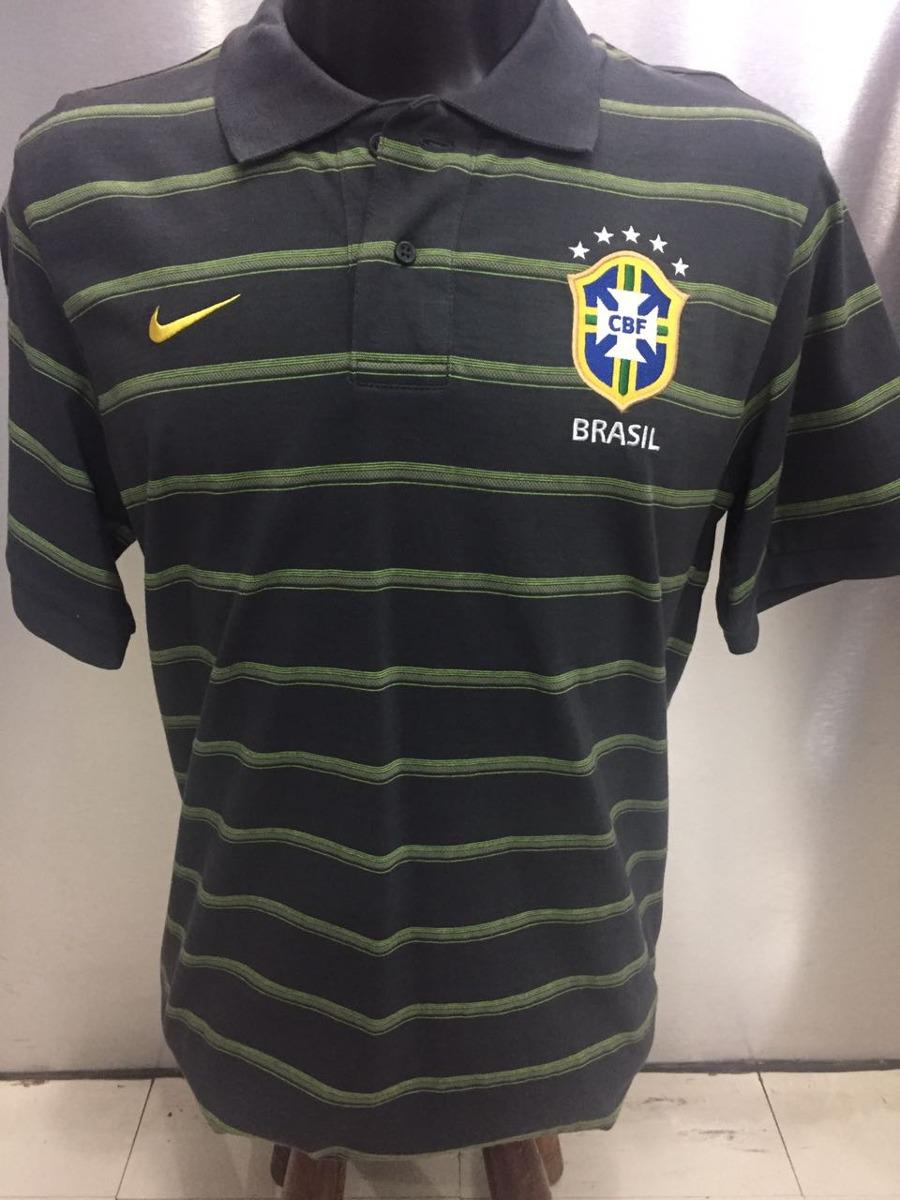 662c670055 camisa seleção brasileira polo viagem nike. Carregando zoom.