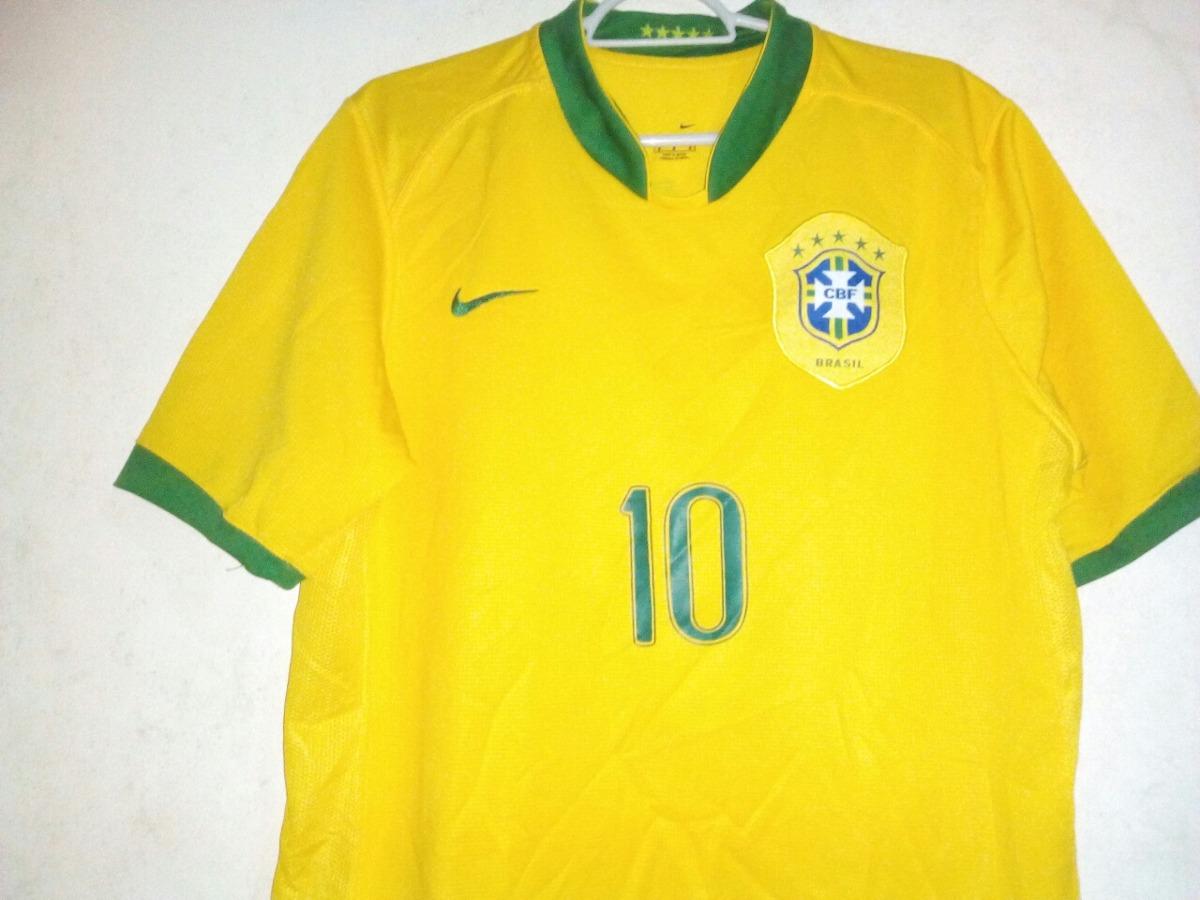 d3d9409a30 camisa seleção brasileira ronaldinho nike 2006. Carregando zoom.