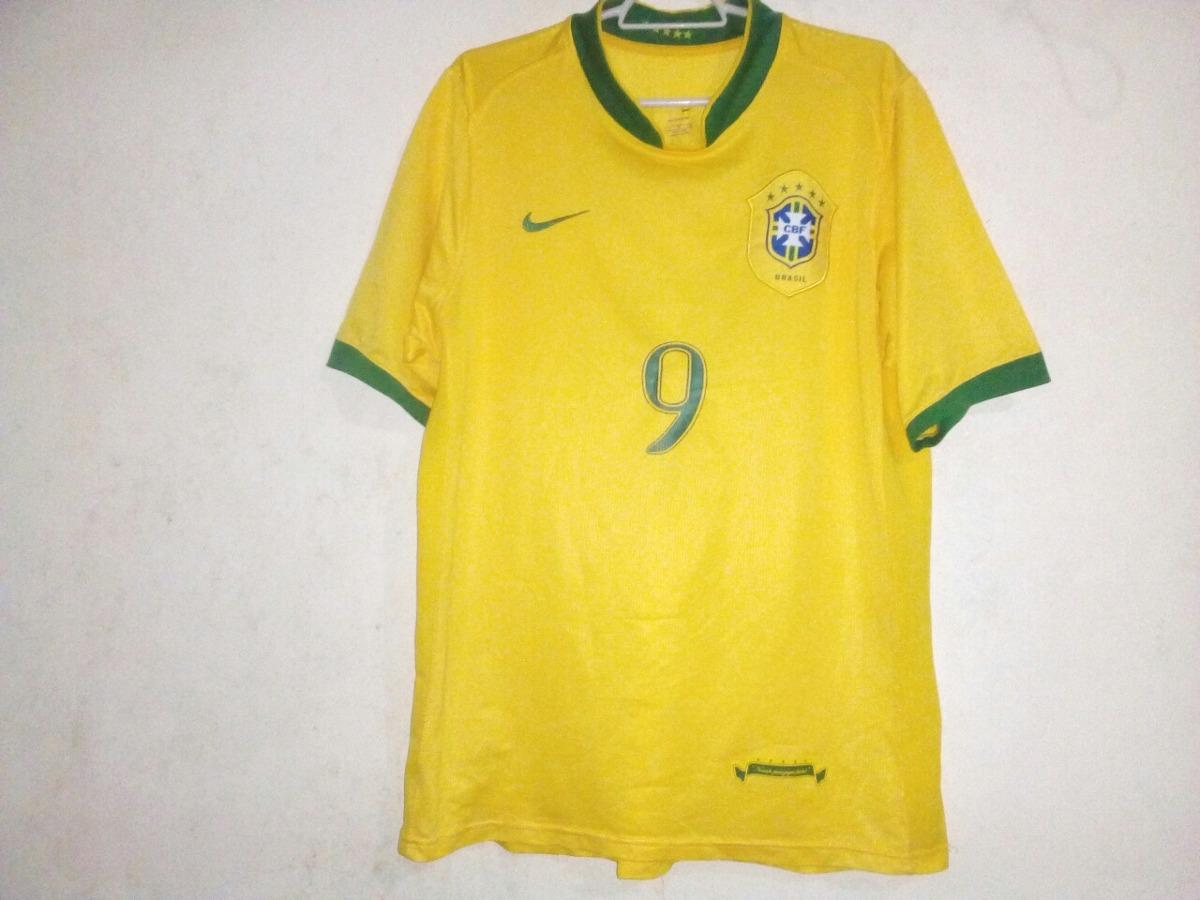 3b928e5098 camisa seleção brasileira ronaldo original nike 2006. Carregando zoom.