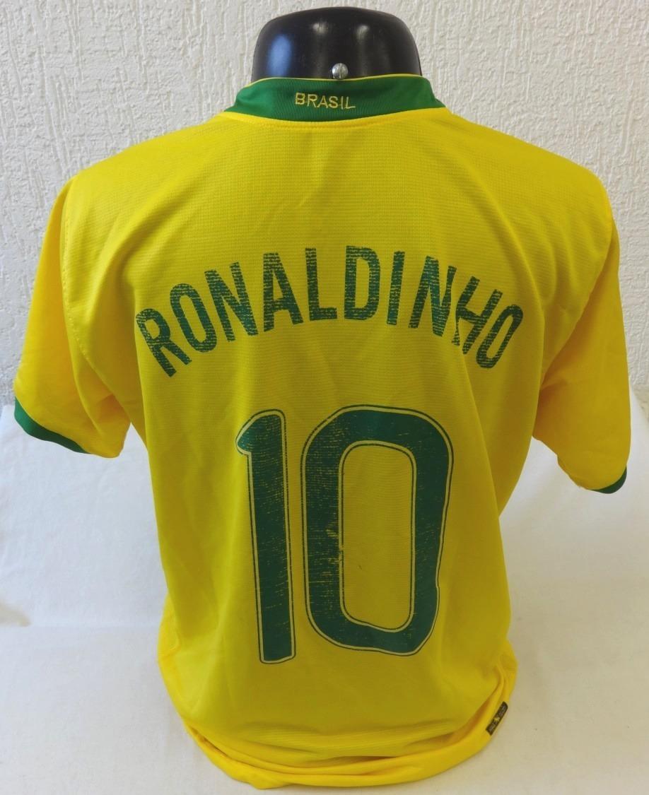 2b58d63f9c camisa seleção brasiliera 2006 - original nike ronaldinho. Carregando zoom.